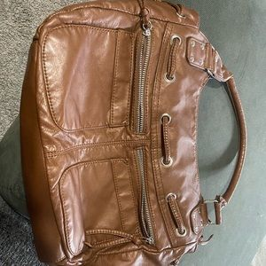 Large Brown Purse like new.